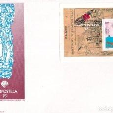 Francobolli: SELLOS ESPAÑA OFERTA SOBRE DEL PRIMER DÍA GRAN FORMATO AÑO 1993. Lote 287557838