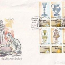 Francobolli: SELLOS ESPAÑA OFERTA SOBRE DEL PRIMER DÍA GRAN FORMATO AÑO 1988. Lote 287560353
