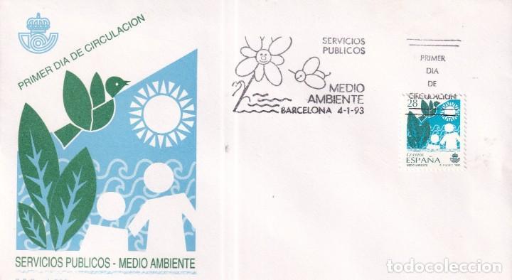 Sellos: Sellos España OFERTA sobres del primer día año 1993 COMPLETO - Foto 2 - 287705023