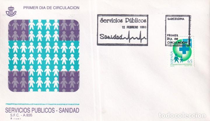 Sellos: Sellos España OFERTA sobres del primer día año 1993 COMPLETO - Foto 3 - 287705023