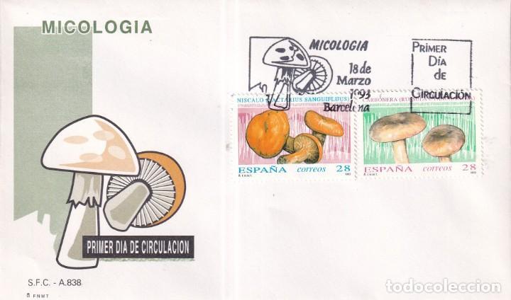 Sellos: Sellos España OFERTA sobres del primer día año 1993 COMPLETO - Foto 5 - 287705023