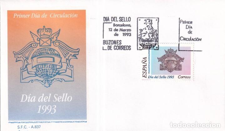 Sellos: Sellos España OFERTA sobres del primer día año 1993 COMPLETO - Foto 6 - 287705023