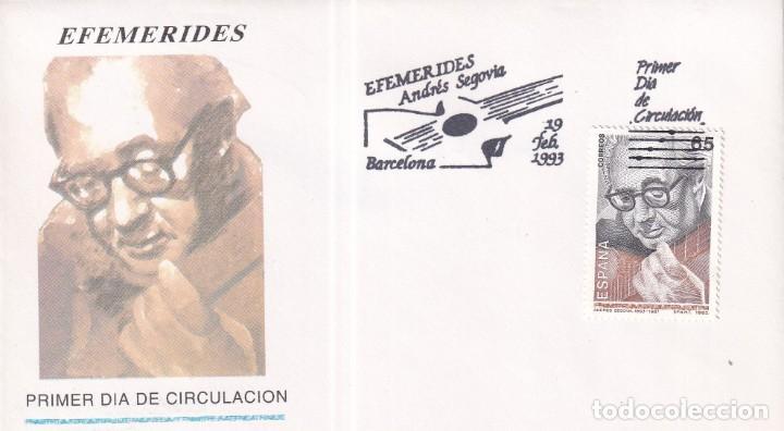 Sellos: Sellos España OFERTA sobres del primer día año 1993 COMPLETO - Foto 7 - 287705023