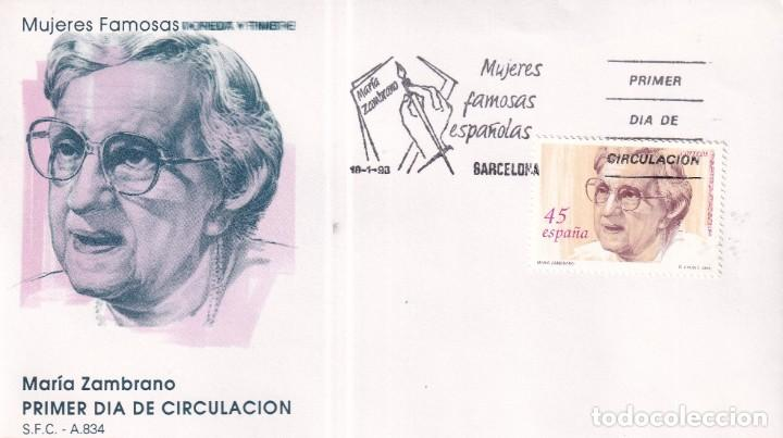 Sellos: Sellos España OFERTA sobres del primer día año 1993 COMPLETO - Foto 8 - 287705023