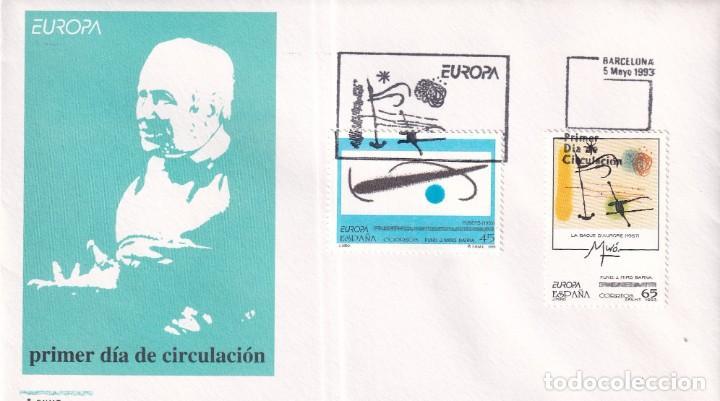 Sellos: Sellos España OFERTA sobres del primer día año 1993 COMPLETO - Foto 10 - 287705023