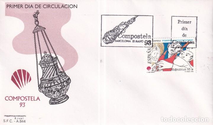Sellos: Sellos España OFERTA sobres del primer día año 1993 COMPLETO - Foto 11 - 287705023