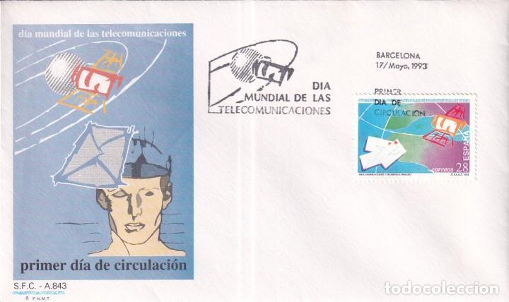 Sellos: Sellos España OFERTA sobres del primer día año 1993 COMPLETO - Foto 12 - 287705023