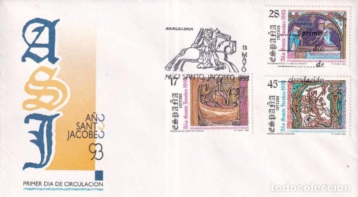 Sellos: Sellos España OFERTA sobres del primer día año 1993 COMPLETO - Foto 13 - 287705023