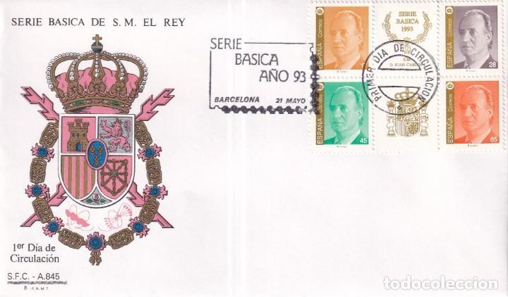 Sellos: Sellos España OFERTA sobres del primer día año 1993 COMPLETO - Foto 15 - 287705023