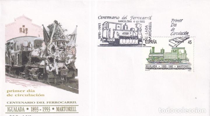 Sellos: Sellos España OFERTA sobres del primer día año 1993 COMPLETO - Foto 16 - 287705023