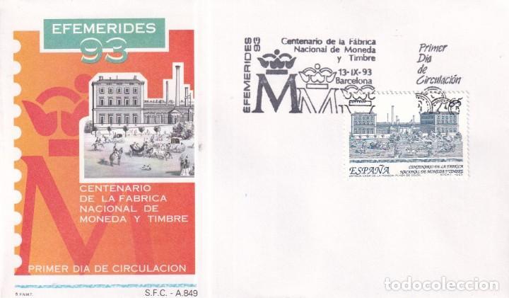Sellos: Sellos España OFERTA sobres del primer día año 1993 COMPLETO - Foto 17 - 287705023