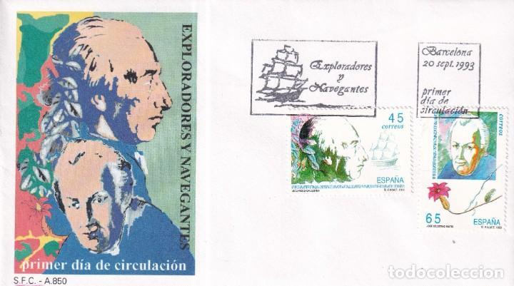 Sellos: Sellos España OFERTA sobres del primer día año 1993 COMPLETO - Foto 19 - 287705023
