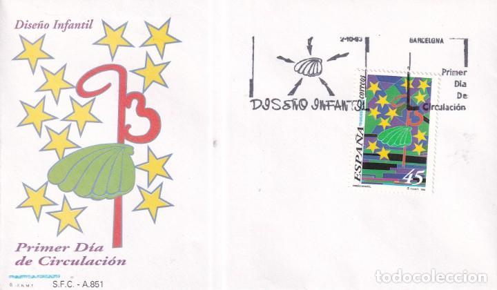 Sellos: Sellos España OFERTA sobres del primer día año 1993 COMPLETO - Foto 20 - 287705023