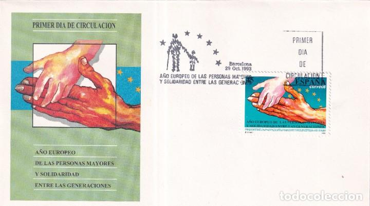 Sellos: Sellos España OFERTA sobres del primer día año 1993 COMPLETO - Foto 22 - 287705023