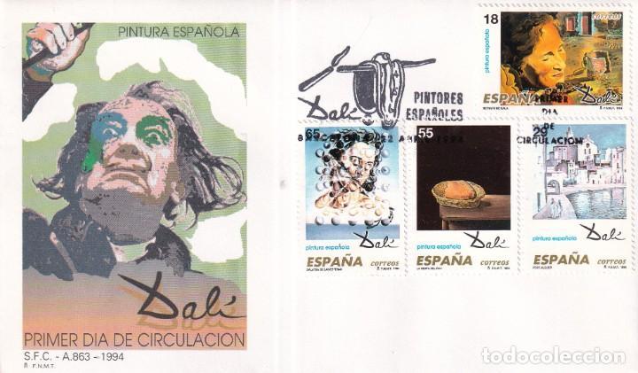 Sellos: Sellos España OFERTA sobres del primer día año 1994 COMPLETO - Foto 2 - 287705053