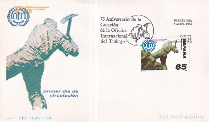 Sellos: Sellos España OFERTA sobres del primer día año 1994 COMPLETO - Foto 3 - 287705053