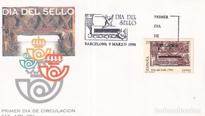 Sellos: Sellos España OFERTA sobres del primer día año 1994 COMPLETO - Foto 4 - 287705053