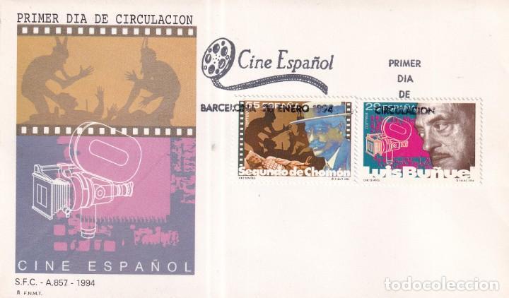 Sellos: Sellos España OFERTA sobres del primer día año 1994 COMPLETO - Foto 5 - 287705053