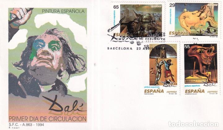 Sellos: Sellos España OFERTA sobres del primer día año 1994 COMPLETO - Foto 8 - 287705053