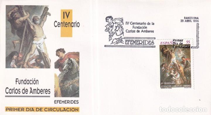Sellos: Sellos España OFERTA sobres del primer día año 1994 COMPLETO - Foto 10 - 287705053