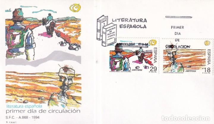 Sellos: Sellos España OFERTA sobres del primer día año 1994 COMPLETO - Foto 11 - 287705053