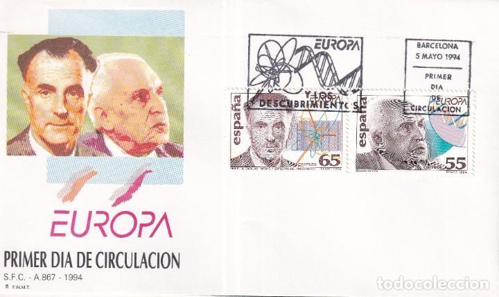 Sellos: Sellos España OFERTA sobres del primer día año 1994 COMPLETO - Foto 12 - 287705053