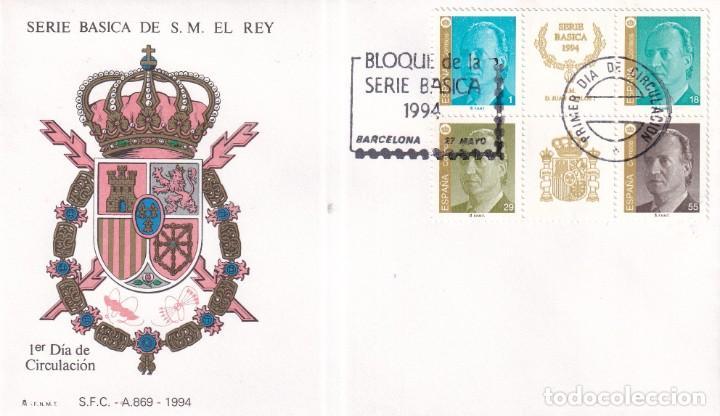Sellos: Sellos España OFERTA sobres del primer día año 1994 COMPLETO - Foto 14 - 287705053