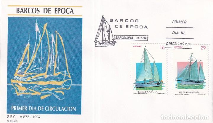 Sellos: Sellos España OFERTA sobres del primer día año 1994 COMPLETO - Foto 18 - 287705053