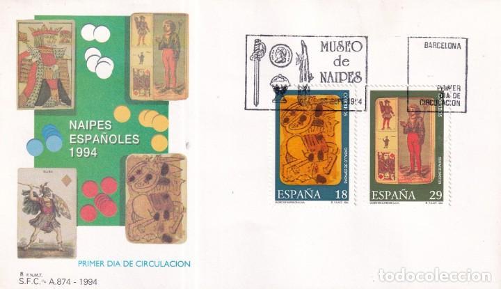 Sellos: Sellos España OFERTA sobres del primer día año 1994 COMPLETO - Foto 20 - 287705053