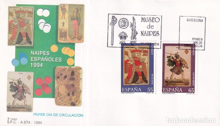Sellos: Sellos España OFERTA sobres del primer día año 1994 COMPLETO - Foto 21 - 287705053