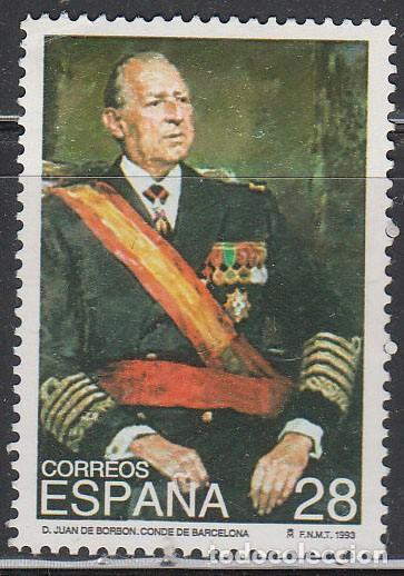 EDIFIL Nº 3264, DON JUAN DE BORBÓN, NUEVO *** (Sellos - España - Juan Carlos I - Desde 1.986 a 1.999 - Nuevos)