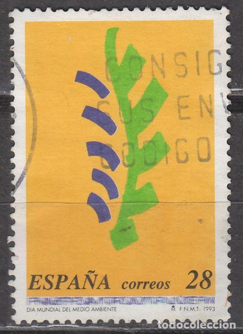 EDIFIL 3263, DIA MUNDIAL DEL MEDIO AMBIENTE, USADO (Sellos - España - Juan Carlos I - Desde 1.986 a 1.999 - Usados)