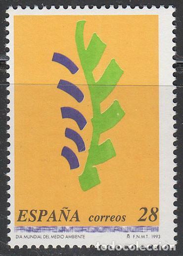 EDIFIL 3263, DIA MUNDIAL DEL MEDIO AMBIENTE, NUEVO*** (Sellos - España - Juan Carlos I - Desde 1.986 a 1.999 - Nuevos)