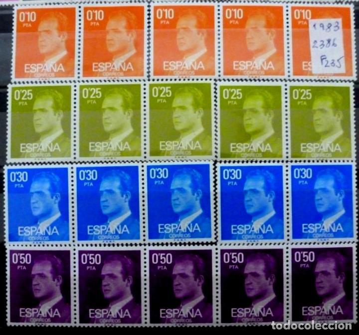 SELLOS ESPAÑA 1983- FOTO 344 -Nº 2386 - NUEVO (Sellos - España - Juan Carlos I - Desde 1.975 a 1.985 - Nuevos)