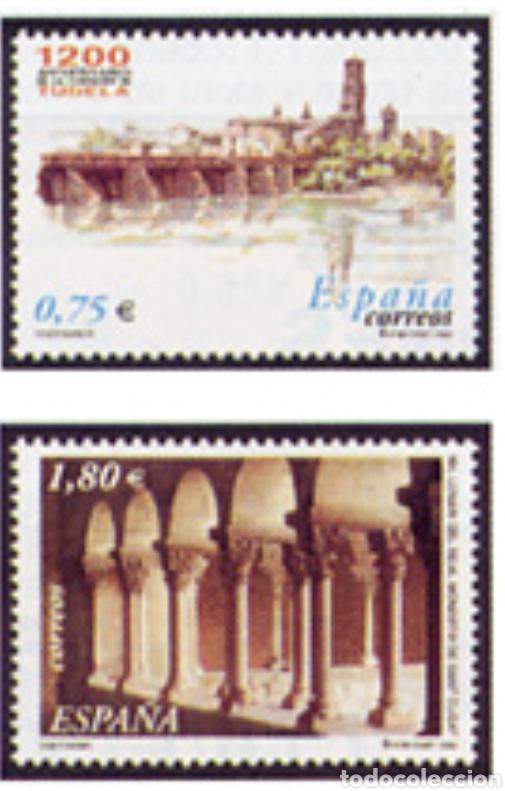 ESPAÑA N°3892/93 MNH** ANIVERSARIOS 2002 (FOTOGRAFÍA ESTÁNDAR) (Sellos - España - Juan Carlos I - Desde 2.000 - Nuevos)