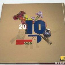 Sellos: ALBUM SELLOS OFICIAL DE CORREOS ESPAÑA Y ANDORRA AÑO 2010 ALBUM COMPLETO. Lote 287821758