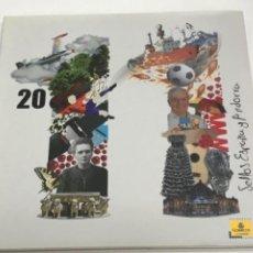 Sellos: LIBRO OFICIAL DE CORREOS CON LOS SELLOS DE ESPAÑA Y ANDORRA AÑO 2011 COMPLETO.. Lote 287822858