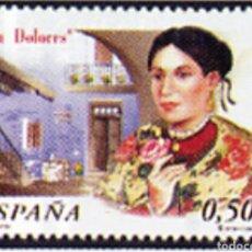 Sellos: ESPAÑA N°3905 MNH** LA DOLORES 2002 (FOTOGRAFÍA ESTÁNDAR). Lote 287837028