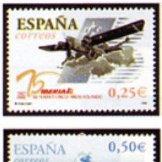 Sellos: ESPAÑA N°3907/08 MNH** 75º ANIVERSARIO DEL PRIMER VUELO DE IBERIA 1977 002 (FOTOGRAFÍA ESTÁNDAR). Lote 287837583