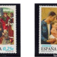 Selos: ESPAÑA N°3955/56 MNH** NAVIDAD 2002 (FOTOGRAFÍA ESTÁNDAR). Lote 287841803