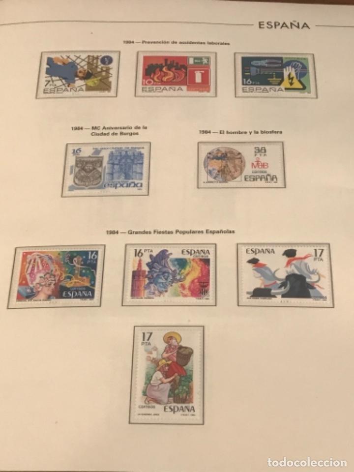 GRAN LOTE DE SELLOS 1984-1991 PUEBLA DE LUJO MINIPLIEGOS. ESPAÑA. VER FOTOS. (Sellos - España - Juan Carlos I - Desde 1.986 a 1.999 - Nuevos)