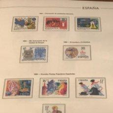 Sellos: GRAN LOTE DE SELLOS 1984-1991 PUEBLA DE LUJO MINIPLIEGOS. ESPAÑA. VER FOTOS.. Lote 288073918