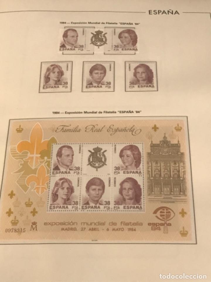 Sellos: GRAN LOTE DE SELLOS 1984-1991 PUEBLA DE LUJO MINIPLIEGOS. ESPAÑA. VER FOTOS. - Foto 2 - 288073918