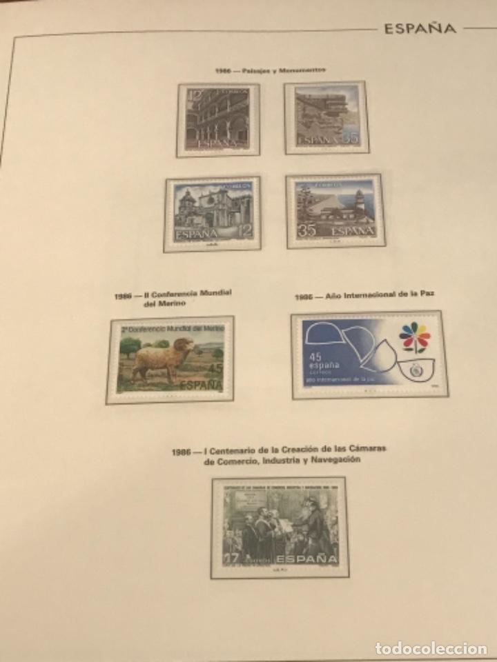 Sellos: GRAN LOTE DE SELLOS 1984-1991 PUEBLA DE LUJO MINIPLIEGOS. ESPAÑA. VER FOTOS. - Foto 14 - 288073918