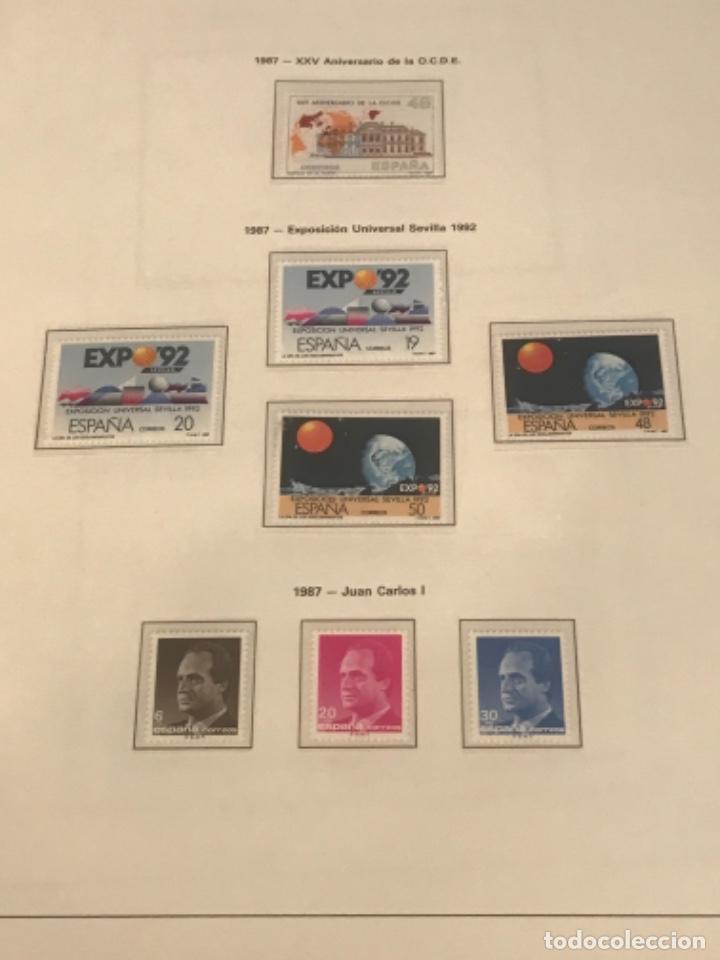 Sellos: GRAN LOTE DE SELLOS 1984-1991 PUEBLA DE LUJO MINIPLIEGOS. ESPAÑA. VER FOTOS. - Foto 21 - 288073918