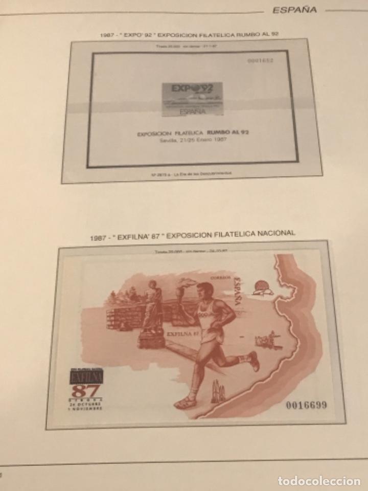 Sellos: GRAN LOTE DE SELLOS 1984-1991 PUEBLA DE LUJO MINIPLIEGOS. ESPAÑA. VER FOTOS. - Foto 22 - 288073918