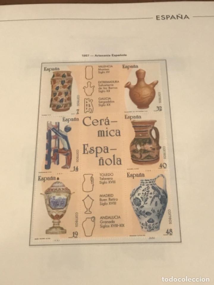 Sellos: GRAN LOTE DE SELLOS 1984-1991 PUEBLA DE LUJO MINIPLIEGOS. ESPAÑA. VER FOTOS. - Foto 24 - 288073918