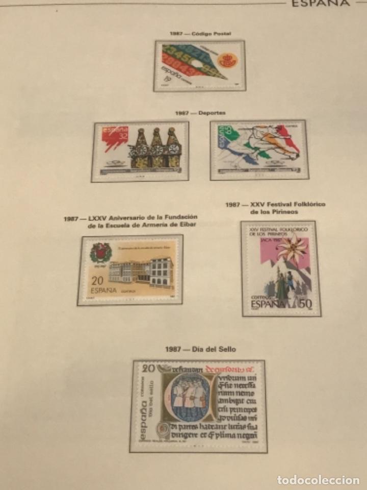Sellos: GRAN LOTE DE SELLOS 1984-1991 PUEBLA DE LUJO MINIPLIEGOS. ESPAÑA. VER FOTOS. - Foto 26 - 288073918