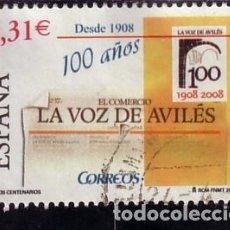 Sellos: SELLO USADO ESPAÑA 2008, EDIFIL 4386. Lote 288077158