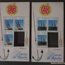 Sellos: SELLO ESPAÑA HOJA BLOQUE 1997 BARCOS PARA SH, FILATELIA. Lote 288095163